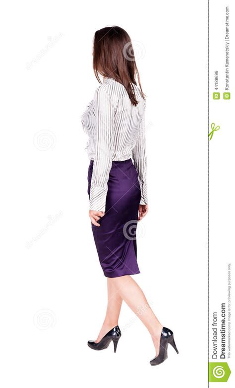 ladies back side images walking business woman stock photo image 44188696