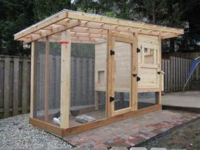 Low Cost To Build House Plans homemade chicken coop