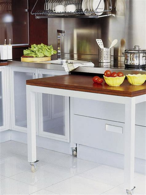 hidden kitchen table 67 cool pull out kitchen drawers and shelves shelterness
