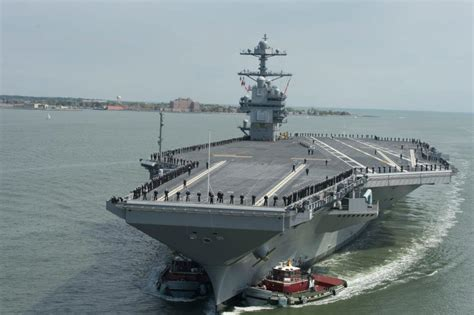 Home Interior Design Omaha by Uss Gerald R Ford Starts Preparations For Acceptance