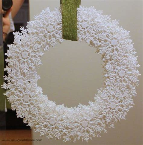 how to make winter decorations how to use snowflakes in winter d 233 cor 36 ideas digsdigs