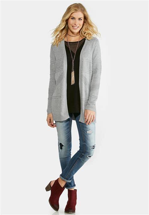 Cardigan Cato tonal cardigan sweater cardigans shrugs cato fashions