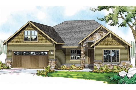 house planss craftsman house plans cascadia 30 804 associated designs