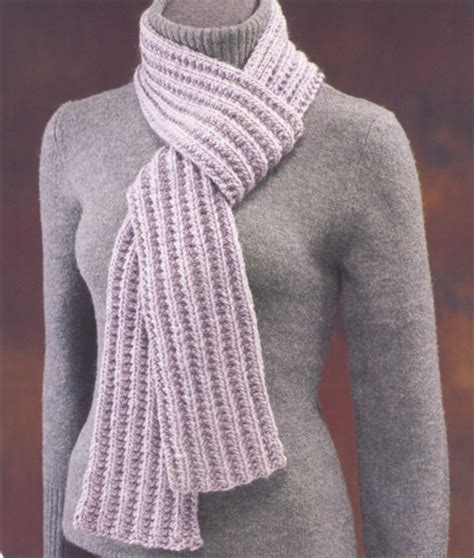 ribbed knitted scarf pattern free free knit scarf pattern farrow rib scarf knitting