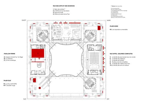 Eiffel Tower Floor Plan | eiffel tower s first floor refurbishment agence moatti