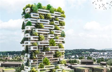 Sustainable House Plans Vertical Forest Building Planned For Switzerland By