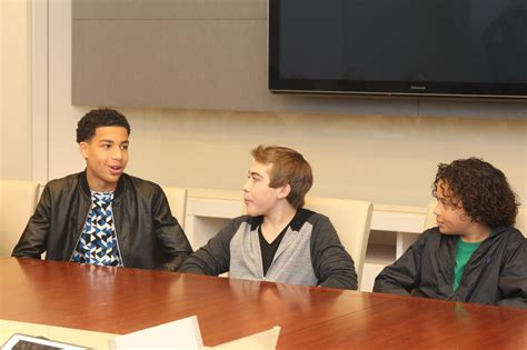 marcus scribner voice actor talking with the young voice talent behind the good