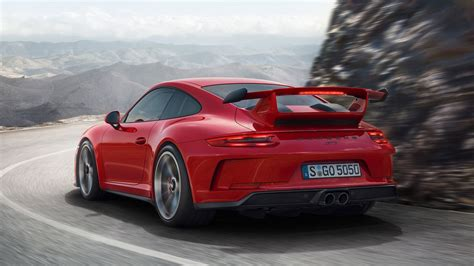 porsche red guards red 2018 porsche 911 gt3 shines in its birthday