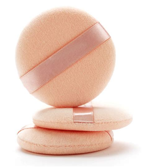 Spon Sponge Bedak Tabur Powder Puff tip powder puffs makeup by porter