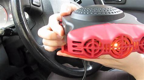 12 volt car fan 12 volt ceramic car fan heater youtube