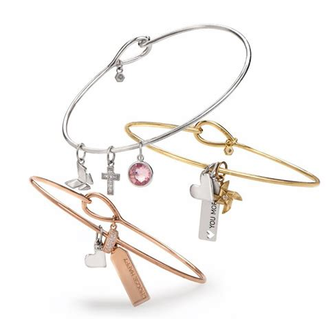 Origami Owl Charm Bracelet - free bangle with 3 pieces origami owl at