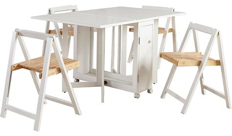 White Folding Table And Chairs White Folding Kitchen Table And Chairs Trendyexaminer