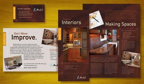 Home Remodeling Brochure Flyer Ads Datasheet And Stationery Designs Design Pinterest Home Improvement Flyer Template