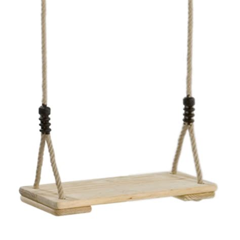 wooden seat swing wooden swing seat by kbt the toy barn
