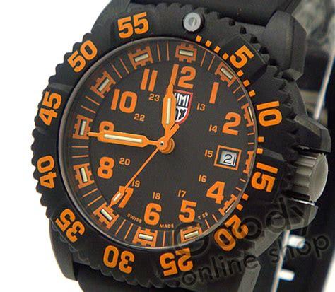 Luminox Navy Seal 3059 Black Orange goodyonline rakuten global market luminox luminox 3059 navy seals navy seals colormark