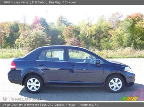 2008 nissan versa interior blue onyx 2008 nissan versa 1 8 sl sedan charcoal