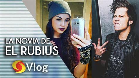 la biografia de el rubius 2016 la novia de el rubius es eli ultraviolettime youtube