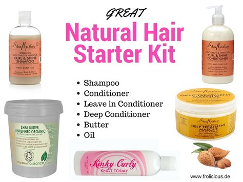 2013 top natural hair products great natural hair starter kit for hair growth