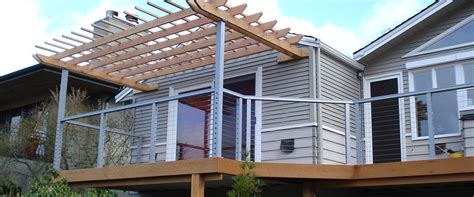cable deck railing systems cost cable deck railing ideas cement patio