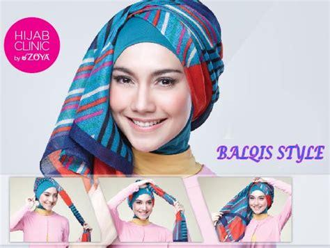 tutorial jilbab zoya terbaru kumpulan tutorial cara memakai jilbab zoya terbaru