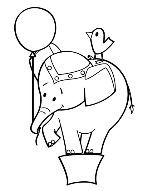 circus elephants coloring pages circus elephant coloring pages ideas to kids