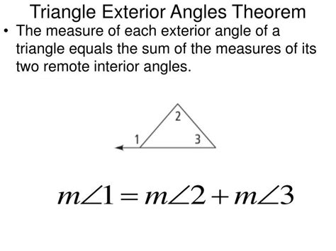 How To Calculate Interior Angles Of A Triangle by Ppt 3 5 Parallel Lines And Triangles Powerpoint