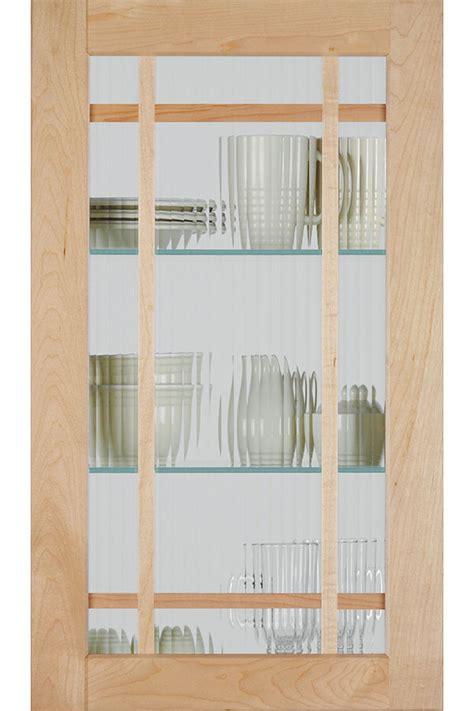 shaker mullion door  reeded glass homecrest