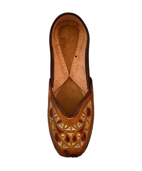 indian slippers handcrafted s artisan indian slippers costume