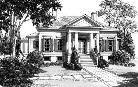 southern charm house plans southern charm quot pecan grove quot house plan by l mitchell ginn associates front