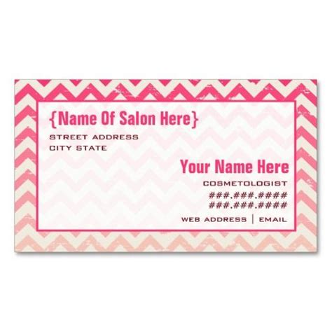 cosmetologist business card templates 17 best images about appointment business cards on