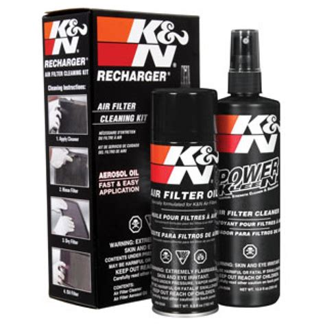 Kn Cleaning Kit k n air filter recharger cleaning kit 99 5000