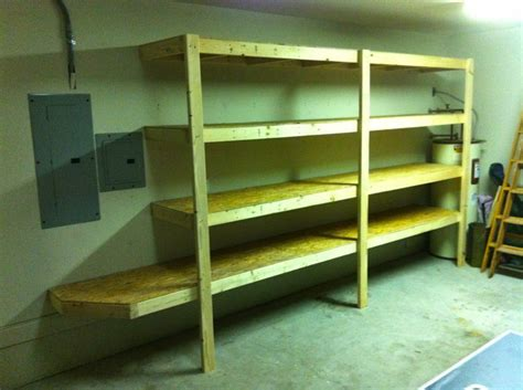 simple garage shelves simple garage shelves smalltowndjs