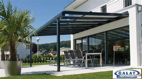 veranda verglast zadaszenie tarasu daszek aluminiowy na samoch 243 d nowy sącz
