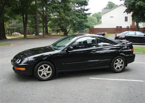 sell used 2000 acura integra gs r 5 speed vtec leather black on black no reserve auction in