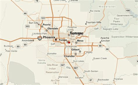 us map tempe arizona tempe location guide