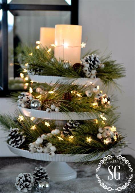 Etagere Weihnachtsdeko by 34 Creative Centerpieces Diy