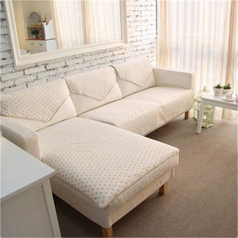Cover For A Sectional by Korean Pastroal Reversible Floral Cotton Cloth Sofa Cover