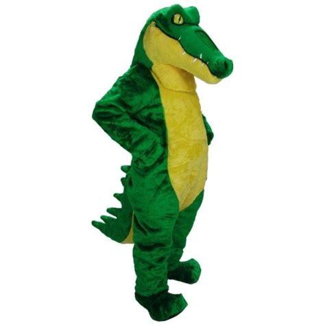 Crocodile Professional Quality Mascot Costume Adult Size ...