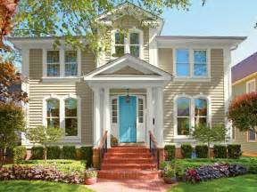 Home Design Exterior Color Schemes by 28 Inviting Home Exterior Color Ideas Hgtv
