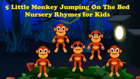 youtube monkeys jumping on the bed five little monkeys jumping on the bed nursery rhymes i