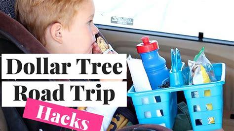 dollar tree hacks dollar tree road trip hacks 2016 youtube