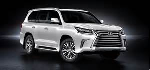 2016 Lexus Lx Refreshed 2016 Lexus Lx 570 Suv Bows At Pebble