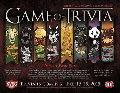 quiz contest themes kvsc trivia history