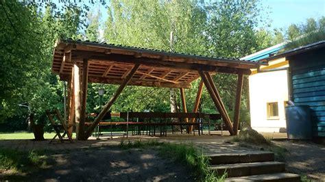 Carport Aus Rundholz carport aus rundholz rahrig kreativausbau