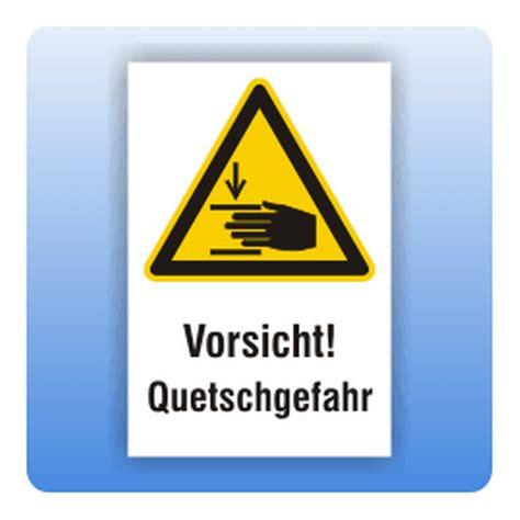 Aufkleber Quetschgefahr by Kombi Warnschild Vorsicht Quetschgefahr Aktiv Werbung