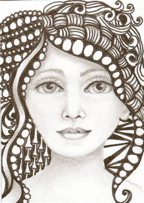 zentangle pattern tribe 168 best images about zentangle hair on pinterest