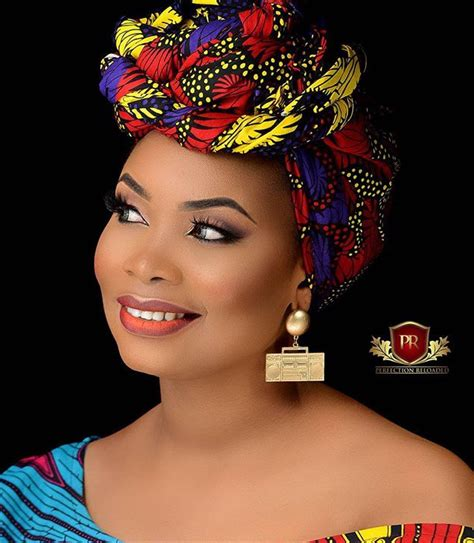 hairstyles and makeup artists makeup artist oluwabukola stuns in different ankara styles
