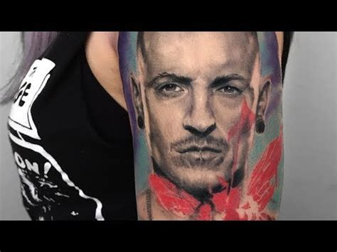 tattoo removal chester chester bennington portrait linkin park