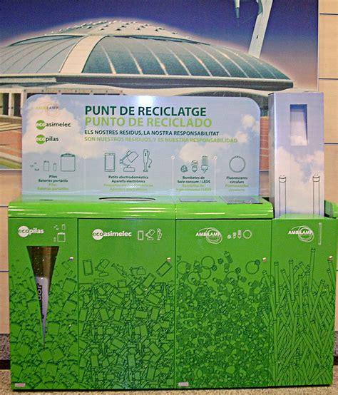centros el corte ingl s nuevos contenedores para el reciclaje de residuos