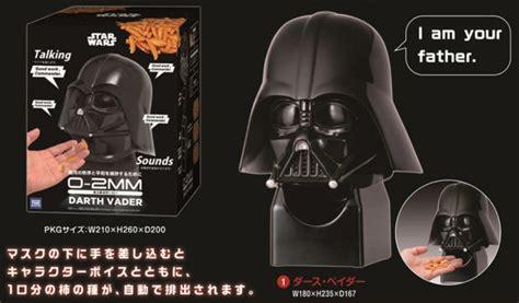 Cetakan Silikon Coklat Wars Dart Vader produk dispenser makanan ringan ala wars teknologi